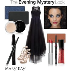 """The Evening Mystery Look"" by marykayus on Polyvore. Order it online today at www.marykay.com/l_davis7"