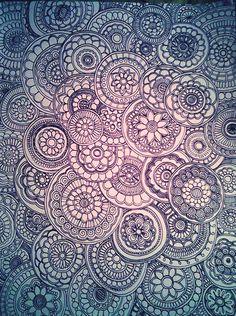 Circular ~ artist ~saveourtrees on deviantART #doodle #circle