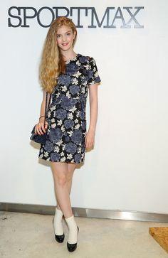Elena Kampouris Photos: Sportmax and Teen Vogue Celebrate New Collection