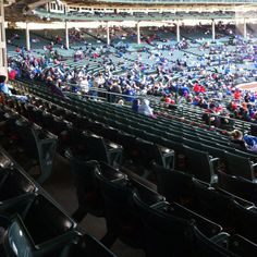 By the 9th inning of the Cubs vs. Reds game at Wrigley on April 22, 2012, the fans gave up and bolted in droves. Announced paid attendance was 35,801. I was not convinced.