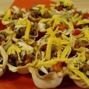 How to Make Mini Taco Cup Appetizers | eHow