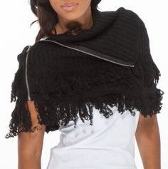 It's so ugly, I like it  Fringe Sweater Topper