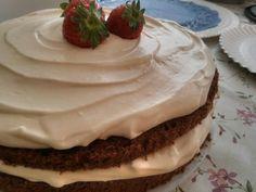 Mascarpone & Strawberry cake
