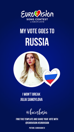 Eurovision 2018 Instagram template by @luceslusia - Russia I Voted, Lose Weight At Home, Boost Metabolism, Weight Loss Plans, Burn Calories, Stay Fit, Videos, Russia, Templates