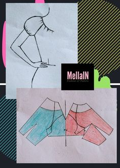 Pattern Drafting Tutorials, Skirt Patterns Sewing, Blouse Patterns, Clothing Patterns, Sewing Tutorials, Sleeves Designs For Dresses, Sleeve Designs, Boutique Style, Sewing Collars