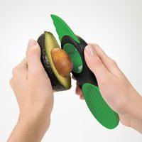 The Oxo Good Grips 3-in-1 Avocado Slicer ($10) splits, pits, slices, and scoops alligator pears, and even grabs the pit for you.
