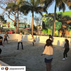 #superbowlsunday #Repost @pippasworld Human fussball at @miamiadschool