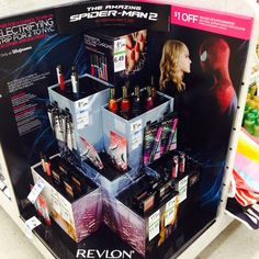 Revlon Electric Chrome Spider-Man Collection Launches at Drugstores  I am not as excited about this as you'd think I'd be...