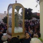 Con procesión, misa y locreada popular culminaron las fiestas de San Antonio