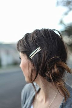 barrette look for in-transition
