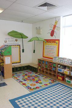 A third grade classroom