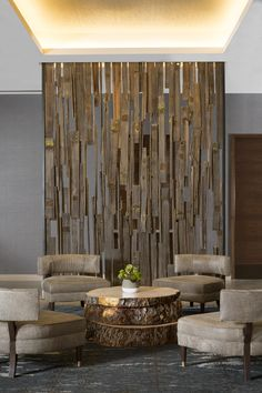 Reception Seating, The Lodge at Edgewood Tahoe by HBA Design