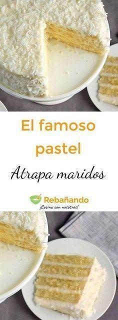 Mexican Food Recipes, Sweet Recipes, Cake Recipes, Dessert Recipes, Köstliche Desserts, Delicious Desserts, Yummy Food, Food Cakes, Cupcake Cakes