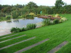 Natural swimming pond Faversham, Kent