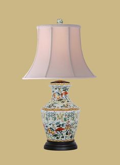 : East Enterprises - Lamps, Shades and Accessories Lamp Bases, Porcelain, Shades, Table Lamps, Lighting, Home Decor, Image, Porcelain Ceramics, Lamp Table