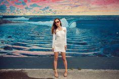 Stylestalker Time Travel dress, Céline Audrey sunglasses and sandals