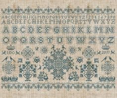 Frisian Cross Stitch
