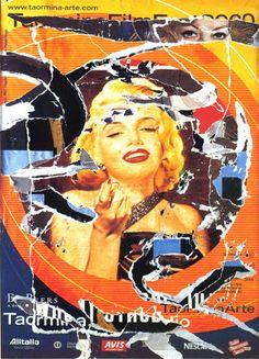 Mimmo Rotella - Omaggio a Marilyn