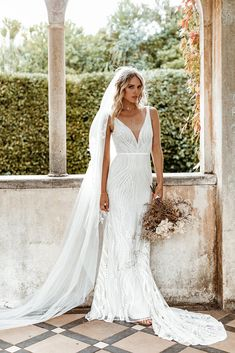 Untamed Heart | The Brand New Wedding Dress Collection from Lovers Society Gowns, New Wedding Dresses, Lace Design, Dress Collection, Bodice, Bell Sleeves, Backless, Lovers, Brand New