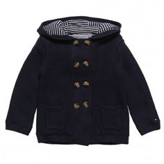 Tommy Hilfiger Baby Boys Knitted Pram-Jacket