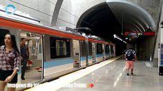 Imagens do interior dos Novos Trens de Metrô