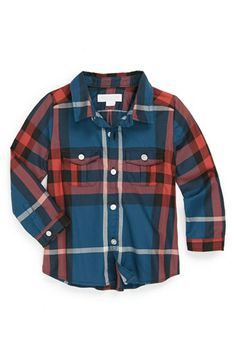 Burberry Woven Shirt (Toddler Boys) available at #Nordstrom #WestfieldSC