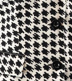 Pied-de-poule blazer #ClaudiaSträter #Detail
