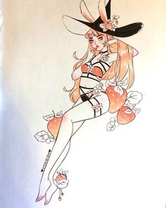 Female plant flower witch mythical reference