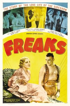 Todd Browning's Freaks. 1932