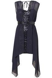 **Sequin Chiffon Dress by Love-- new years dress!