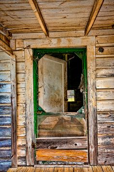 Old doorway in an abandoned house near Lanett, Alabama. Photo by George C. Slade.