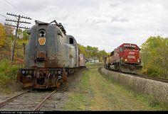 John Ryan, Abandoned Train, Pennsylvania Railroad, Railroad Photography, Diesel Locomotive, Phyllis Diller, Lost Places, New York, Trains