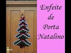 Enfeite de Porta Natalino - YouTube