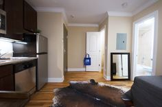 This spacious studio has a large walk-in closet! #bjbproperties #chicagoapartments #lakeviewapartments
