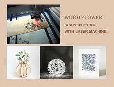 applications of laser engrave machine Laser Cutting Machine, Laser Machine, Flower Shape, Laser Engraving, Stuff To Do, Fiber, Shapes