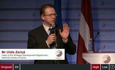 Uldis Zarins, Executive Member of EBLIDA