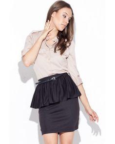 Čierna sukňa K024