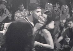 Drake Kisses Kylie Jenner at Her Sweet 16!