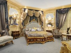 Beautiful Luigi XV Bedroom Suite