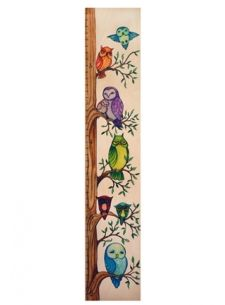 Owl Growth Chart for Boys and Girls