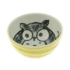 """{Owl Bowl 5.25"""" Yellow Set Of 2} Kotobuki Trading Co. - love these!!"""