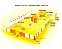 Tabernacle dimensions