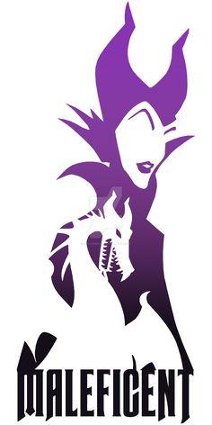 Maleficent Silhouette by NovaEmbersin on DeviantArt
