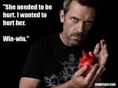 The world according... Gregory House, M.D