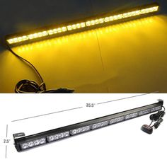 Strobe Light Walmart Fascinating Xprite 31 Inch Inch 28 Led Emergency Warning Light Bar Traffic