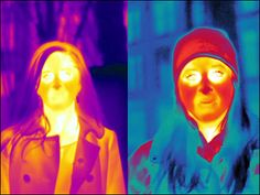 Thermal imaging camera get the myths right about winter clothing...