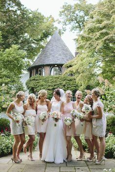John + Amy - Brooke Courtney Photography / coral + mint wedding inspiration / bride / bridesmaid / outdoor wedding /