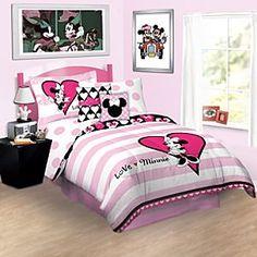 Love Minnie Mouse Bedding Collection
