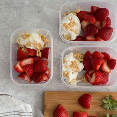 Diet Snacks Creamy part-skim ricotta drizzled with honey, sprinkled with cashews, and topped with fresh strawberries makes for a delicious Mediterranean diet snack. Prepare it on a Sunday, and pack it up in grab-and-go containers for your busy week. Healthy Snack Options, Healthy Snacks, Healthy Eating, Healthy Recipes, Clean Eating, Low Fat Snacks, Healthy Menu, Vegan Snacks, Beef Recipes