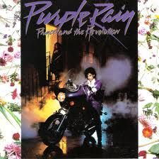 I only wanted to see you laughing in the purple rain.